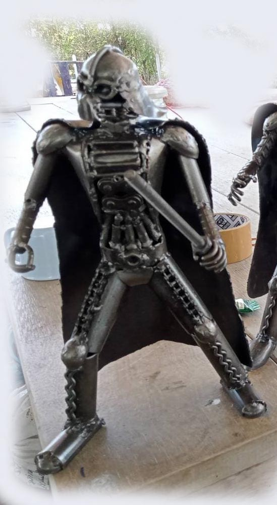 Recycle Metal Robot-21