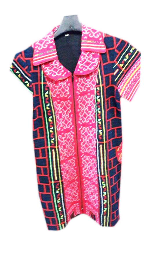 Tribal Patter Dress-03