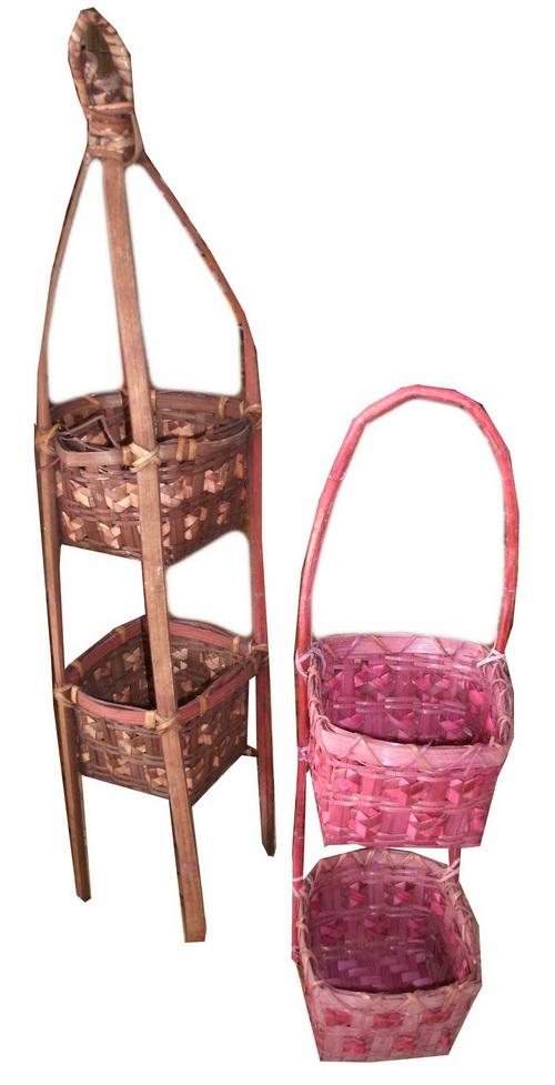 Bamboo small basket PS-BB-07