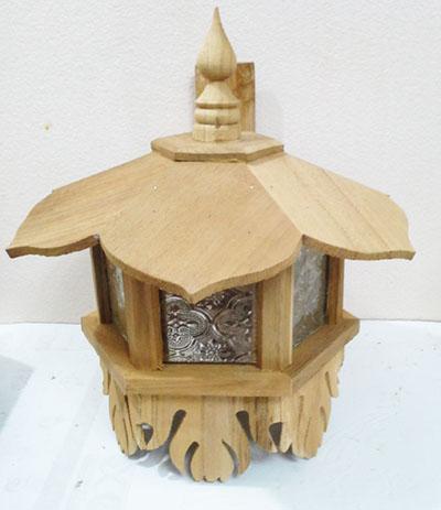 Teak Lamps 460101-w