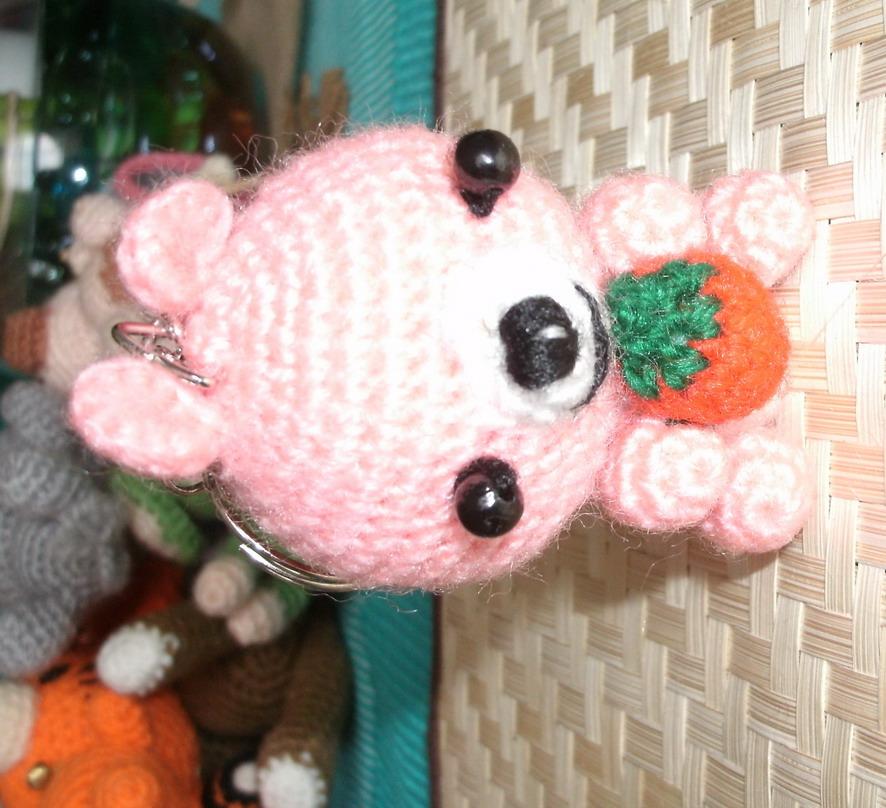 Crochet Doll Keyring-GEDC0019
