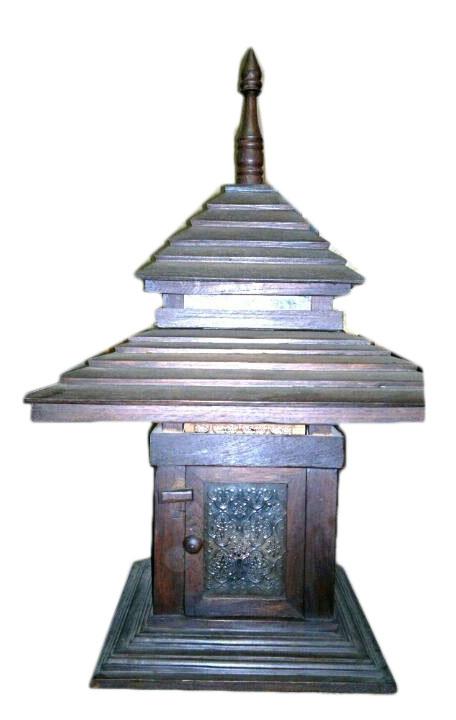 Teak Lamps 2358-1
