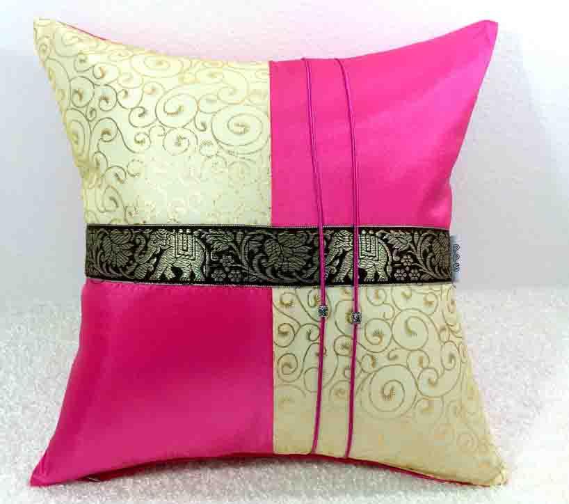 Silk Cushion Pillow Case-230