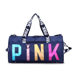 Wax Nylon Travel Yoga Fitness Gym bag Sports Women Duffel Bags