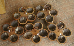 Coconut ingredient bowl setPS-CC-112