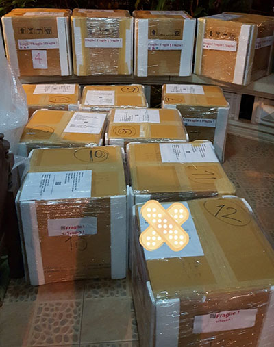 shipment to KZ