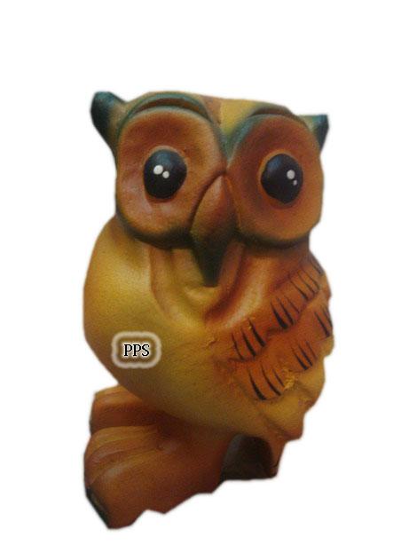 fancy color owl