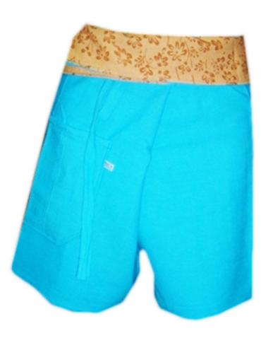 Short Cotton Trouser-B1