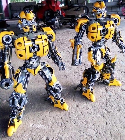 Recycle Metal Robot-35