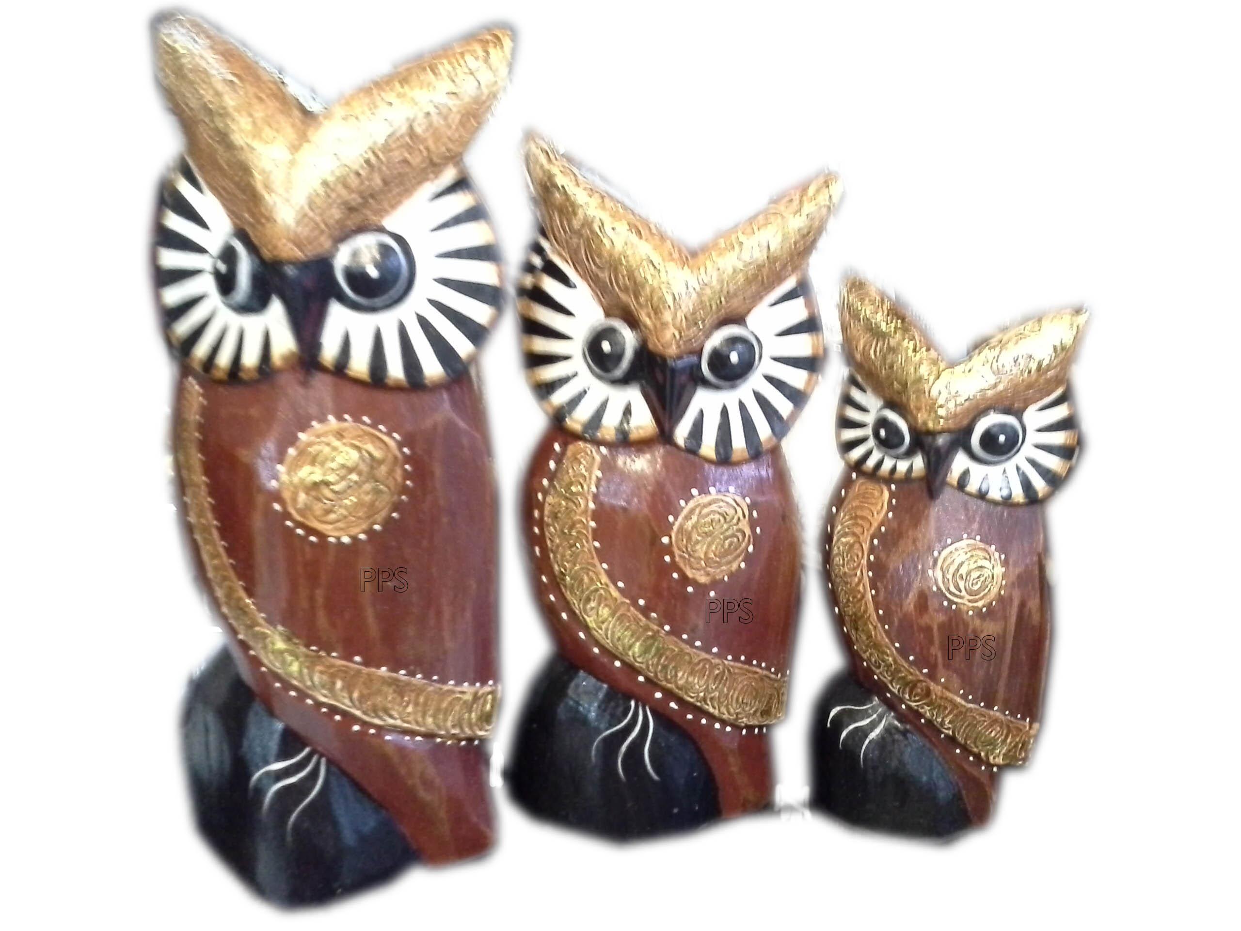Brown 3 owls