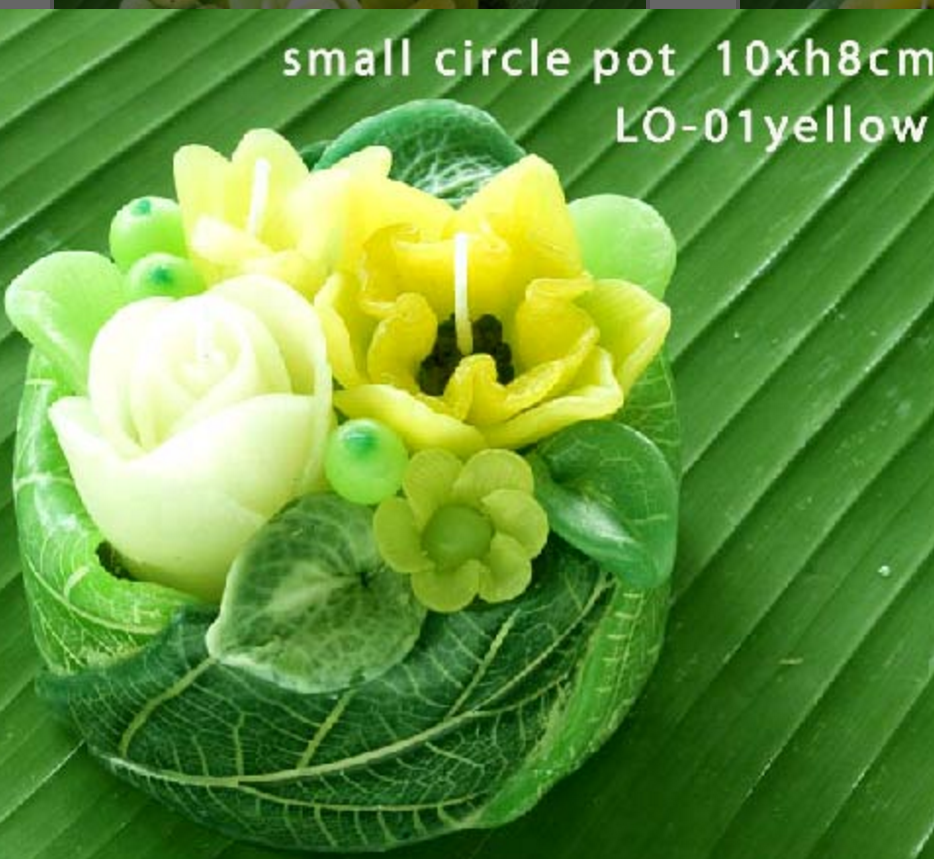 PS-FlowerCandle- LO-01
