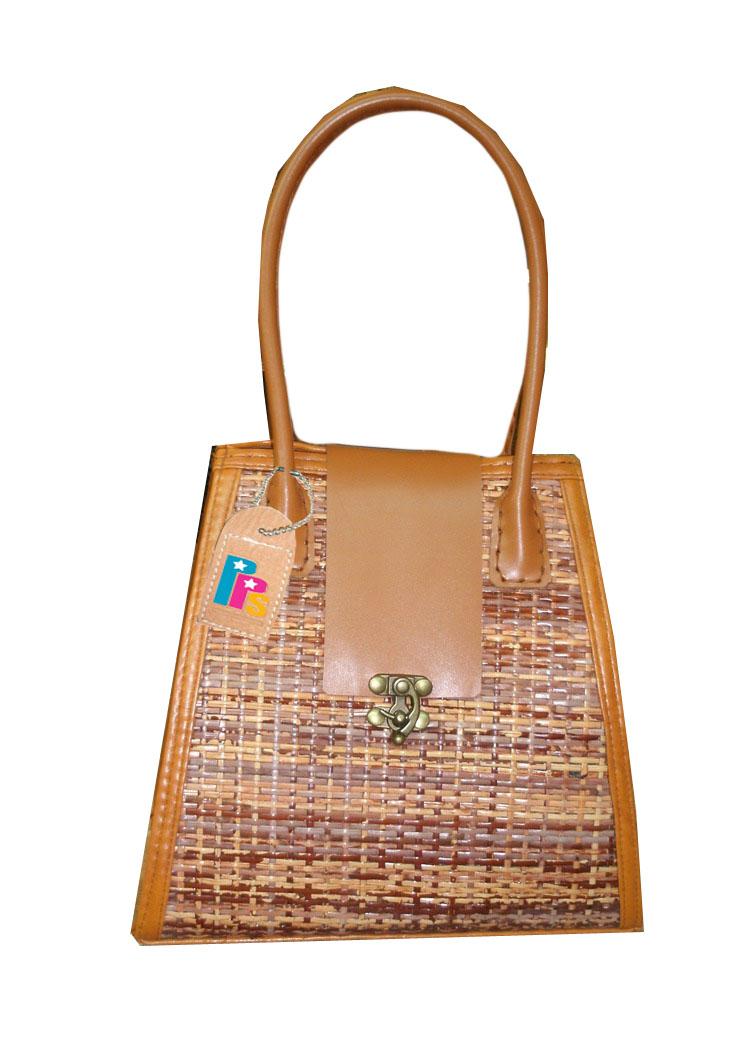 Rattan Bag-pps bag brand 12