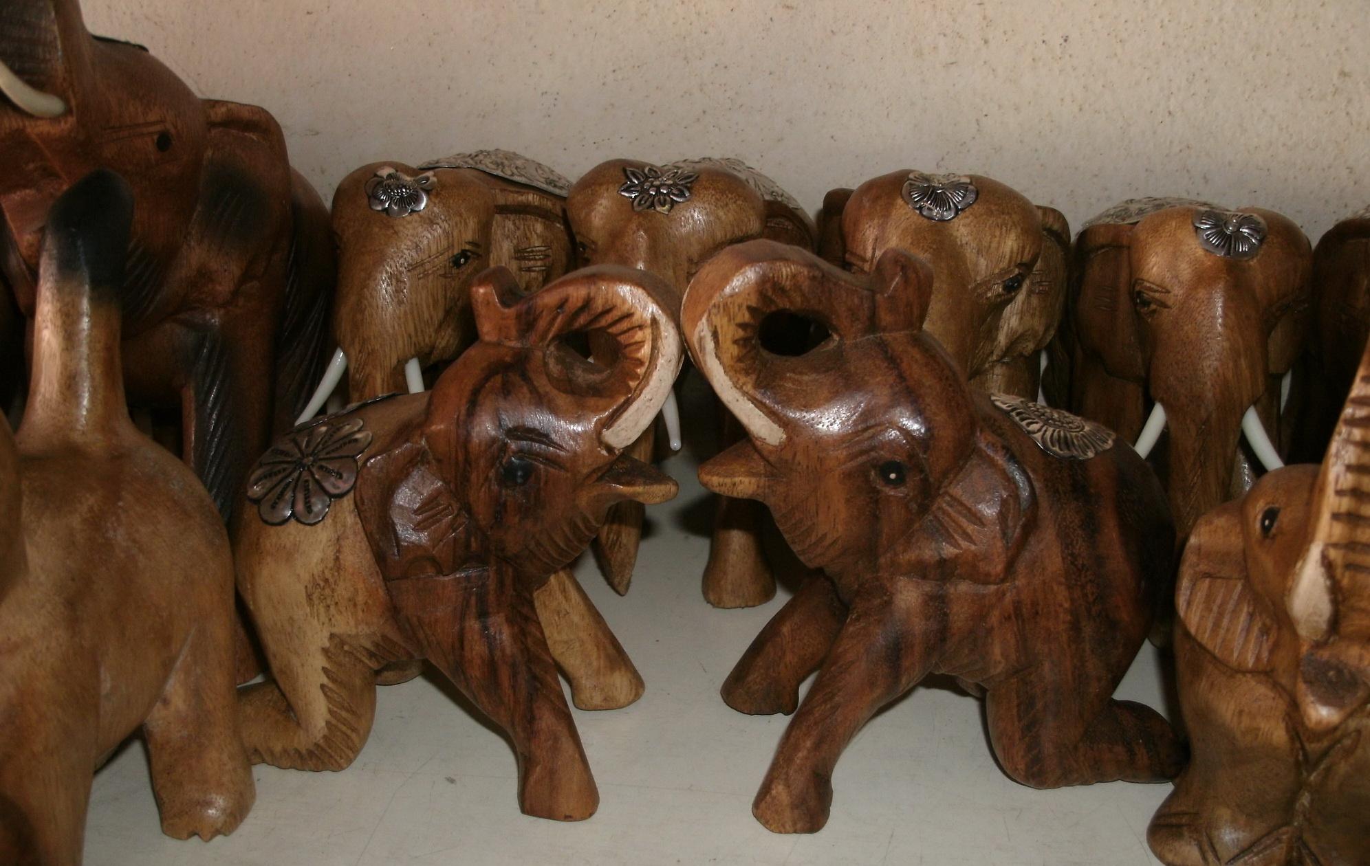 Wood Animal Figurine