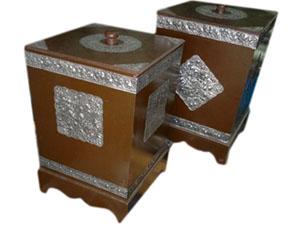 Wood Trash Bin- Nakin Box