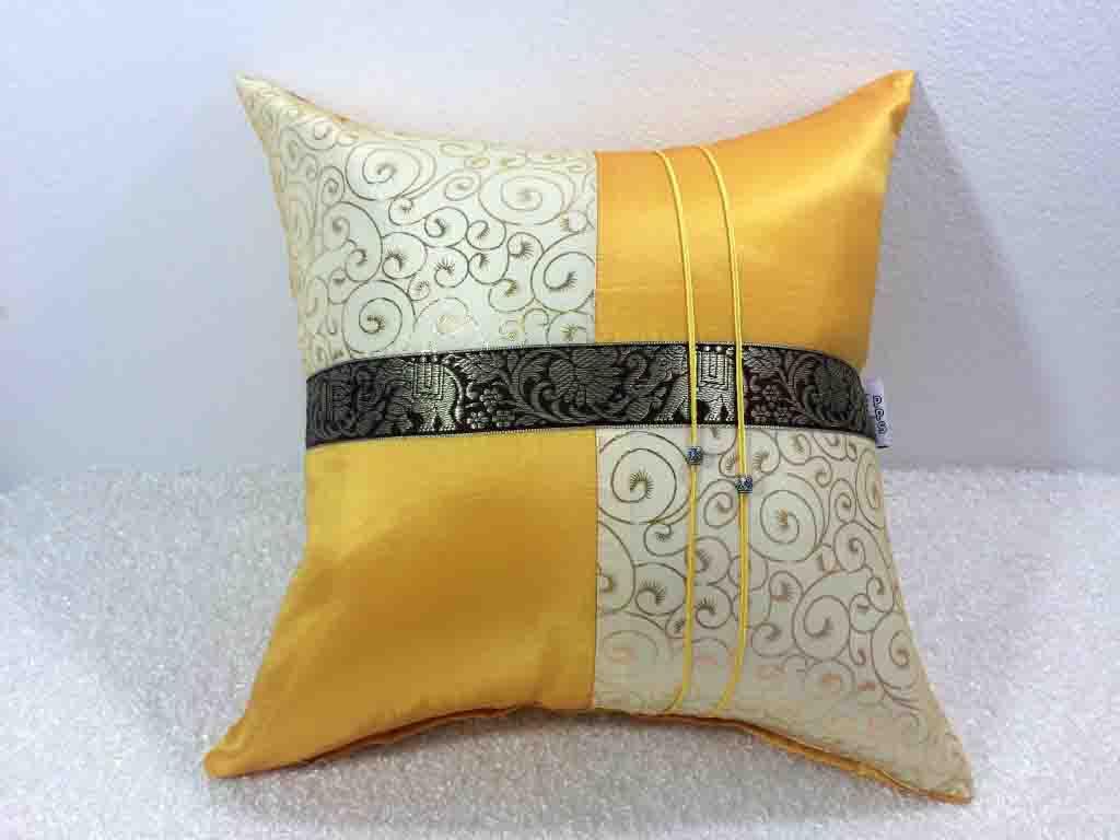 Silk Cushion Pillow Case-015