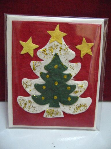 Mulberry Paper Christmas Card-34