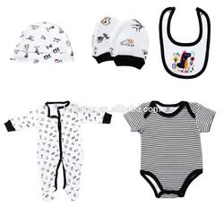 Wholesale european  children bedding seamless newborn baby clothes sets for gift