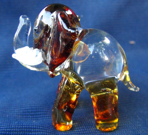 blown glass-Elephant