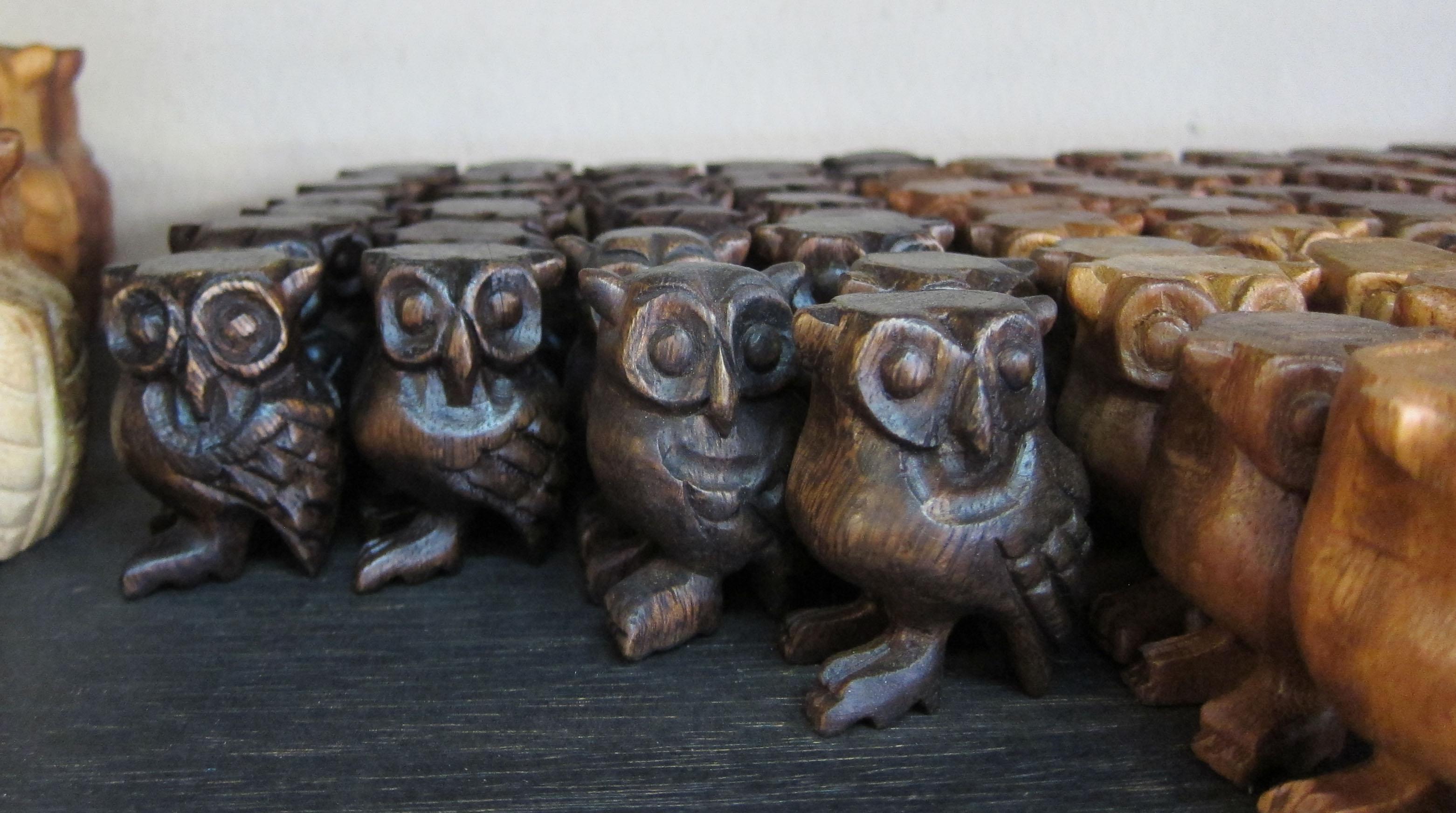 Wood Owl oak color