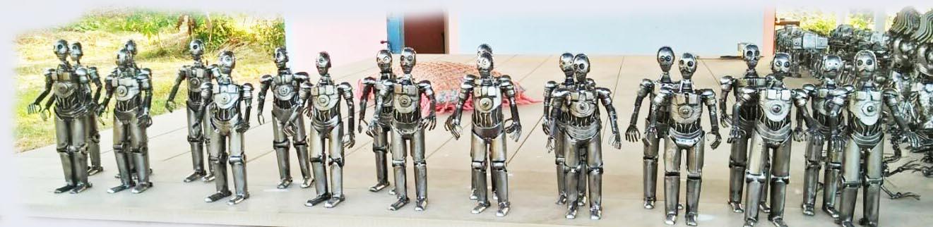 Recycle Metal Robot-16