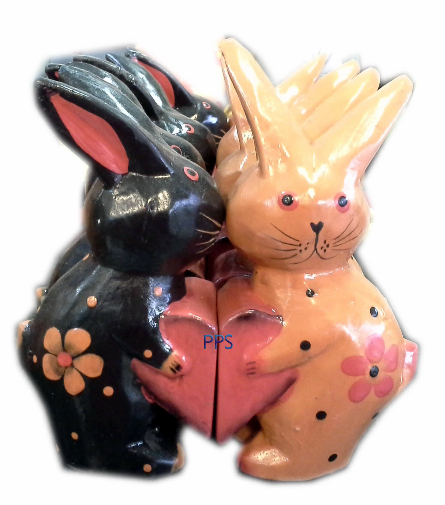 Rabbit Holding heart