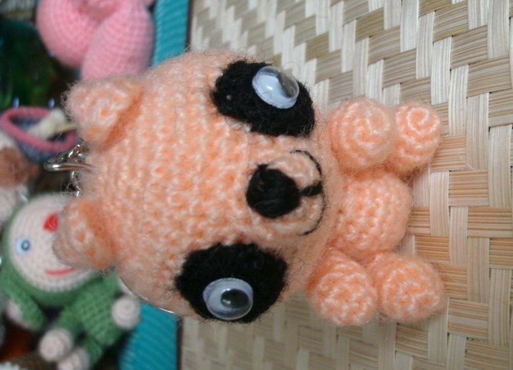 Crochet Doll Keyring-C0021_resize