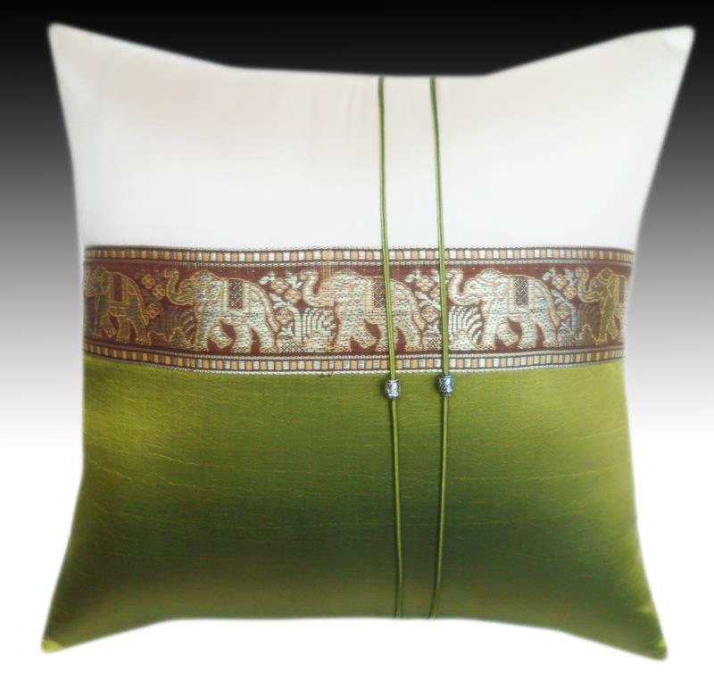 Cushion cover- 2 tone LightGreen