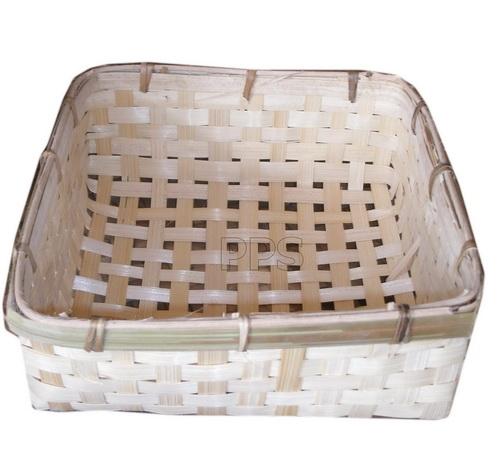 Bamboo flat basket PS-BB-08