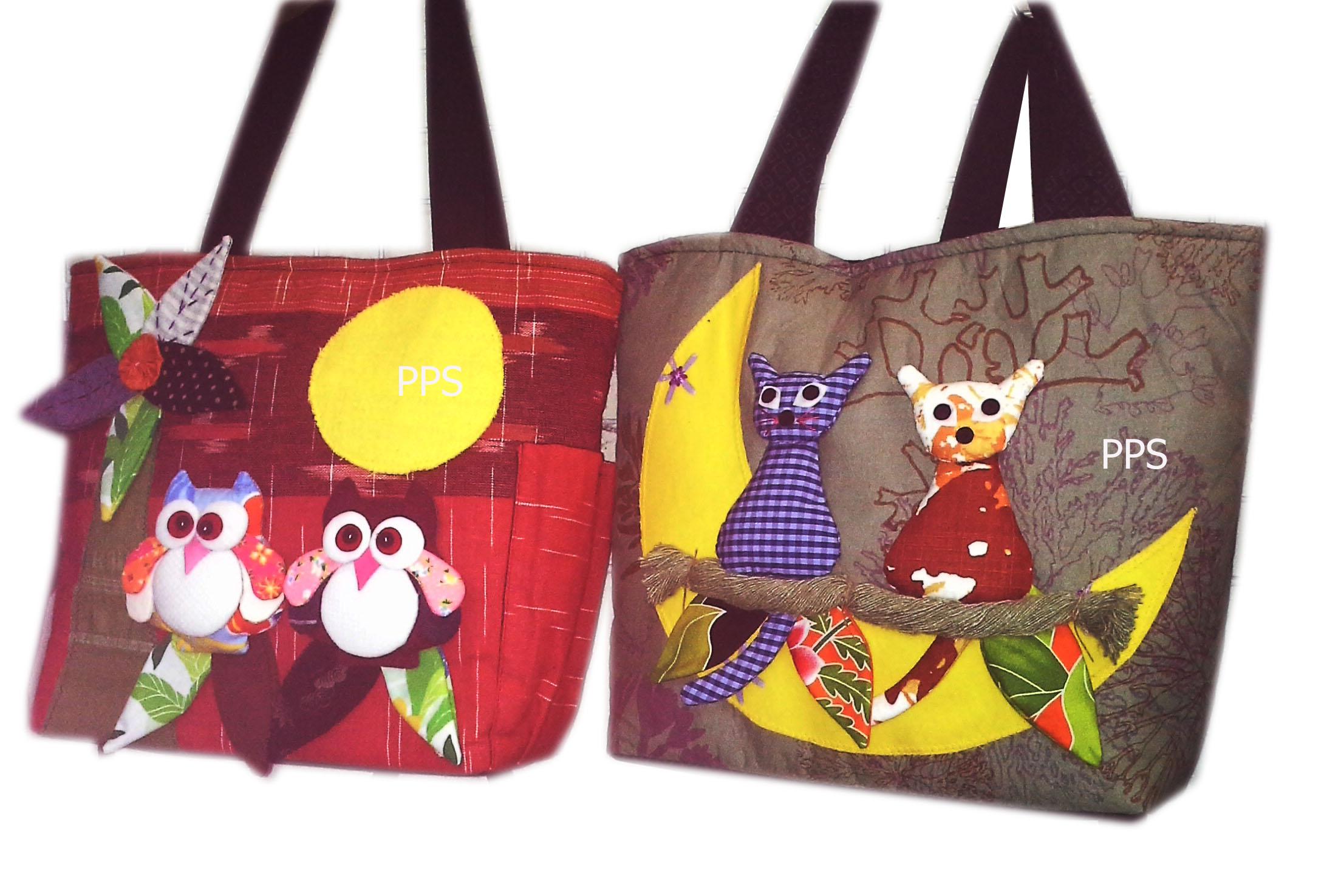 2Tote Owl Bag-18