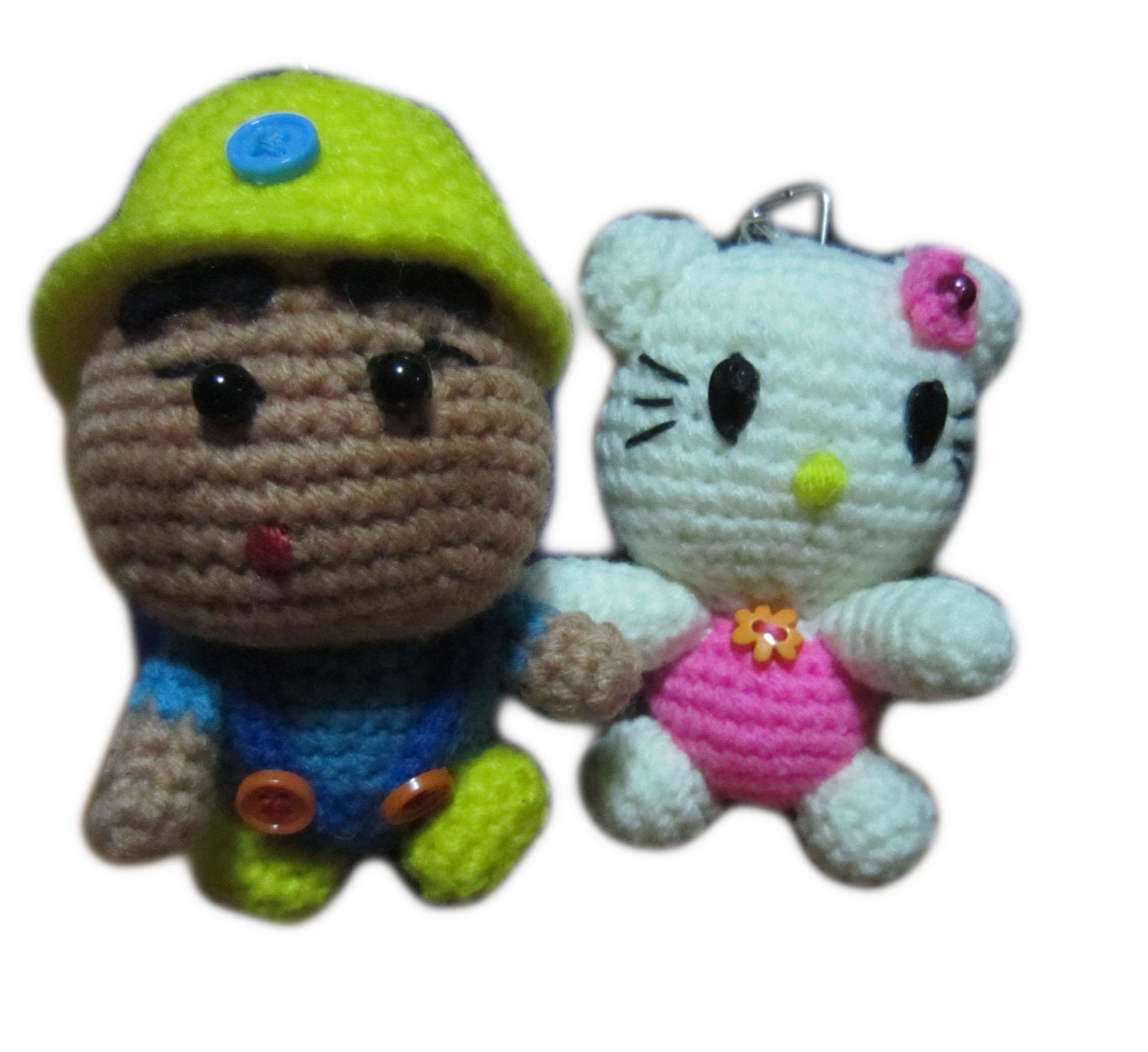 Crochet Doll Keyring-IMG_4366-1