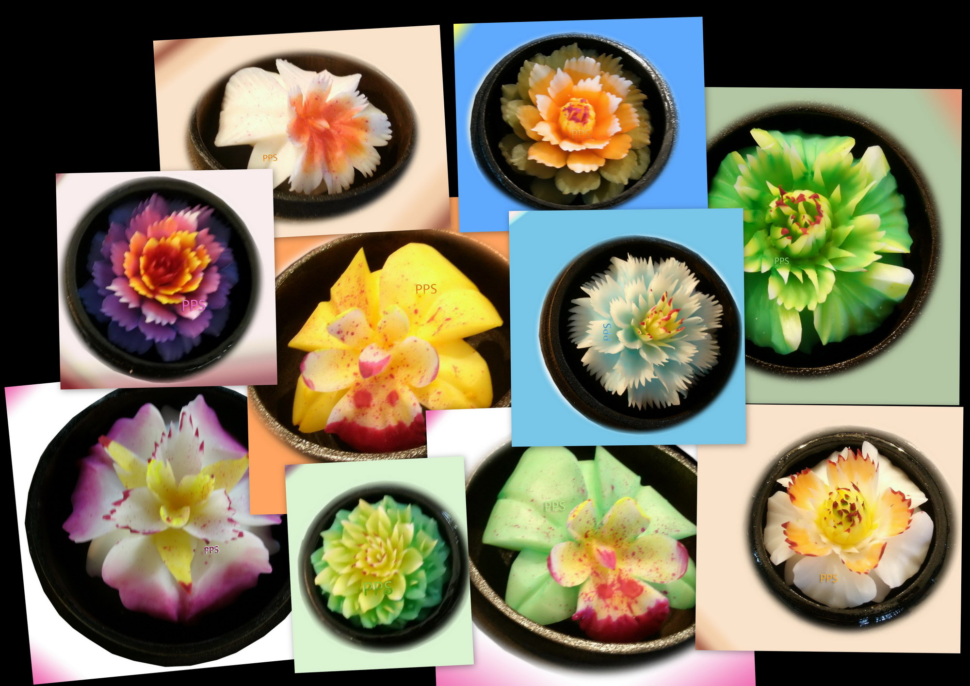 Soap flower-Soap Carved