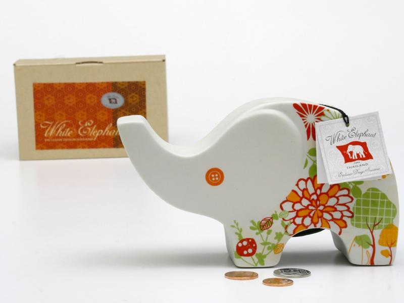 Elephant Ceramic Vase-21