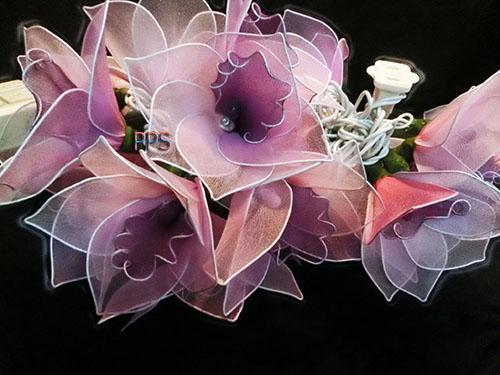 Nylon flower string lights46
