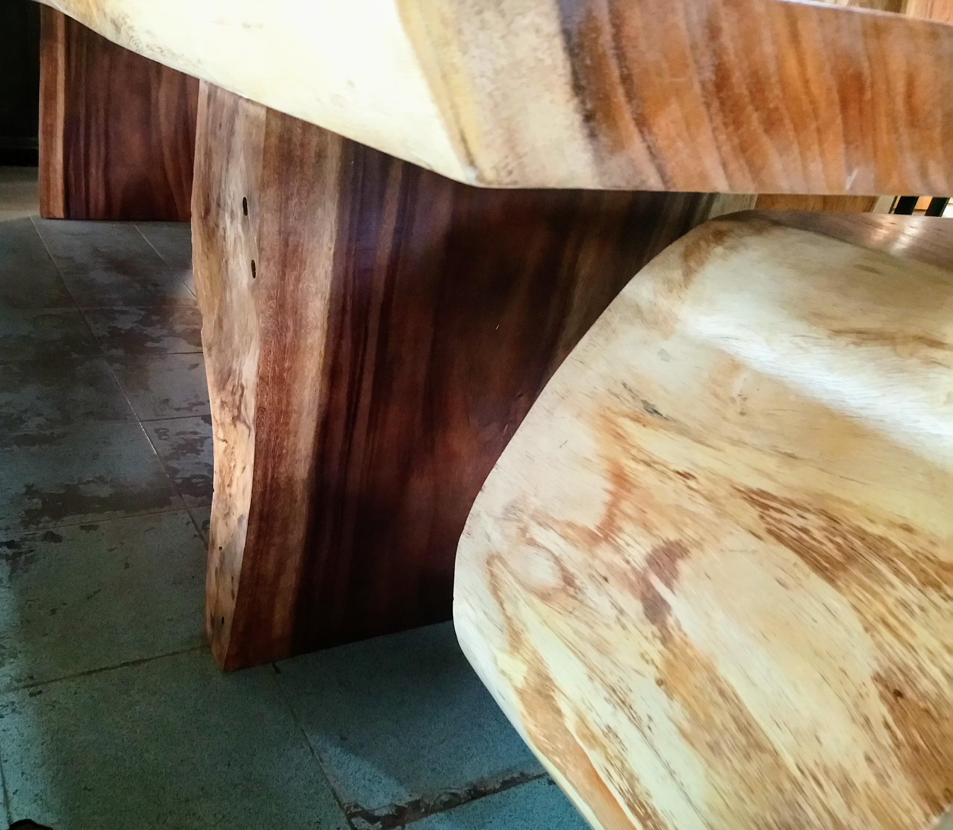 Large Rain Tree Wood Table_1592
