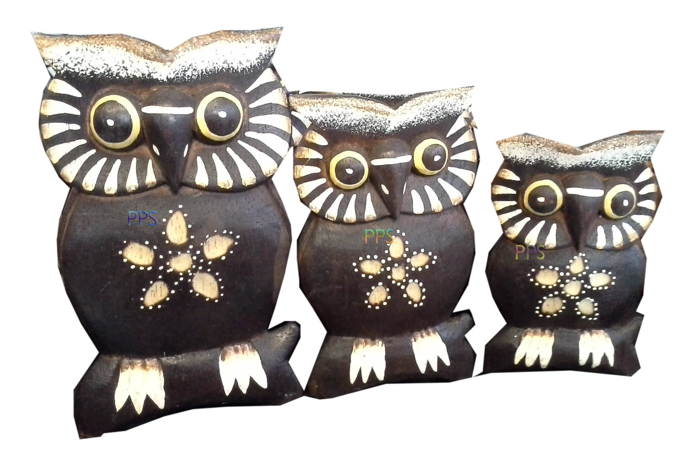 Black 3 owls