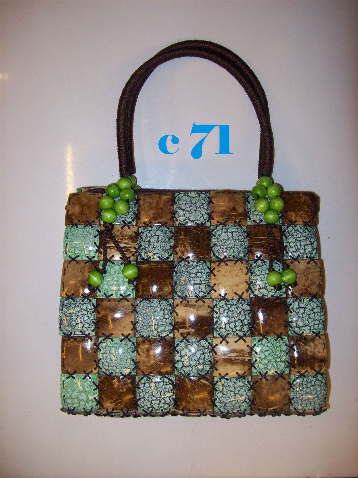Coconut Shell bag-117