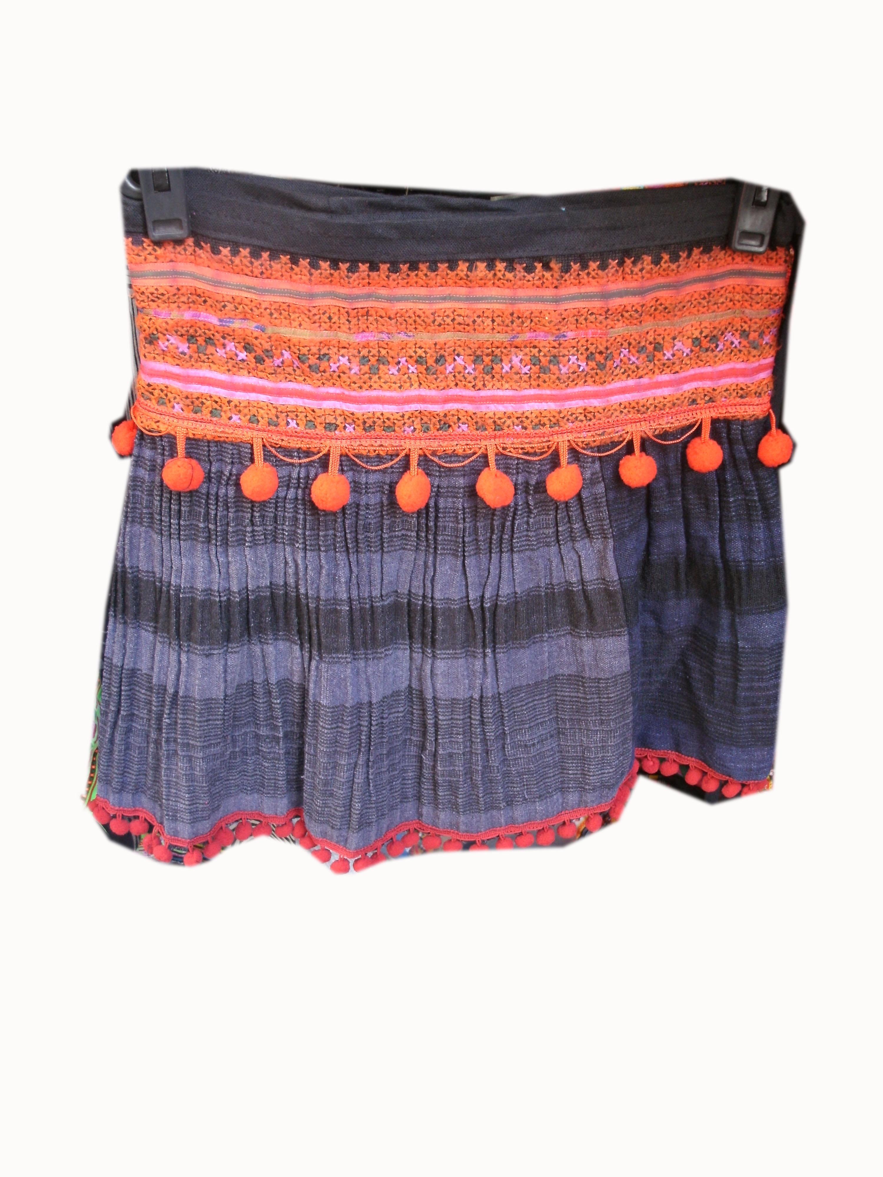 Tribal  Skirt-6