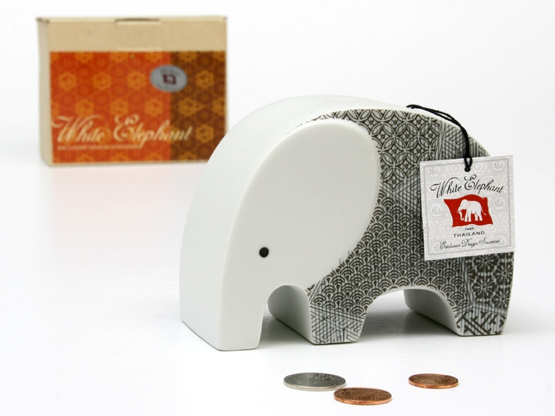 Elephant Ceramic Vase-16