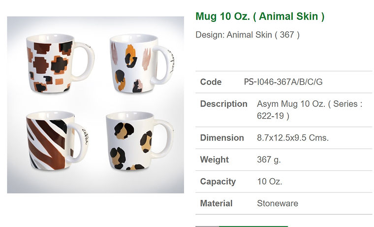 Ceramic mug 10 oz.-animal skin.jpg