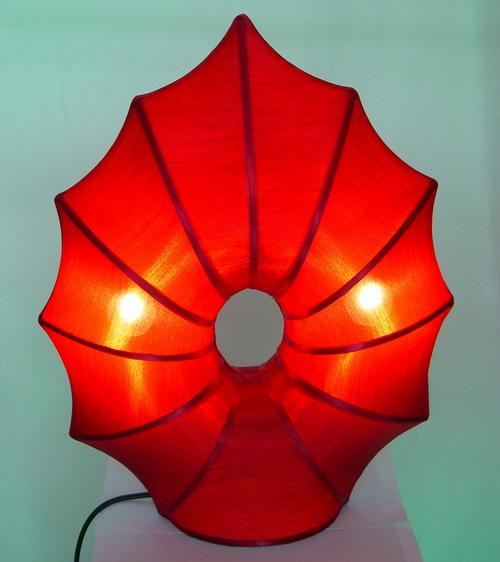 Silk Lamp tree leaf shape