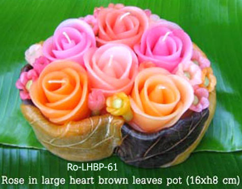 PS-Flower Candle-Ro_LHBP61