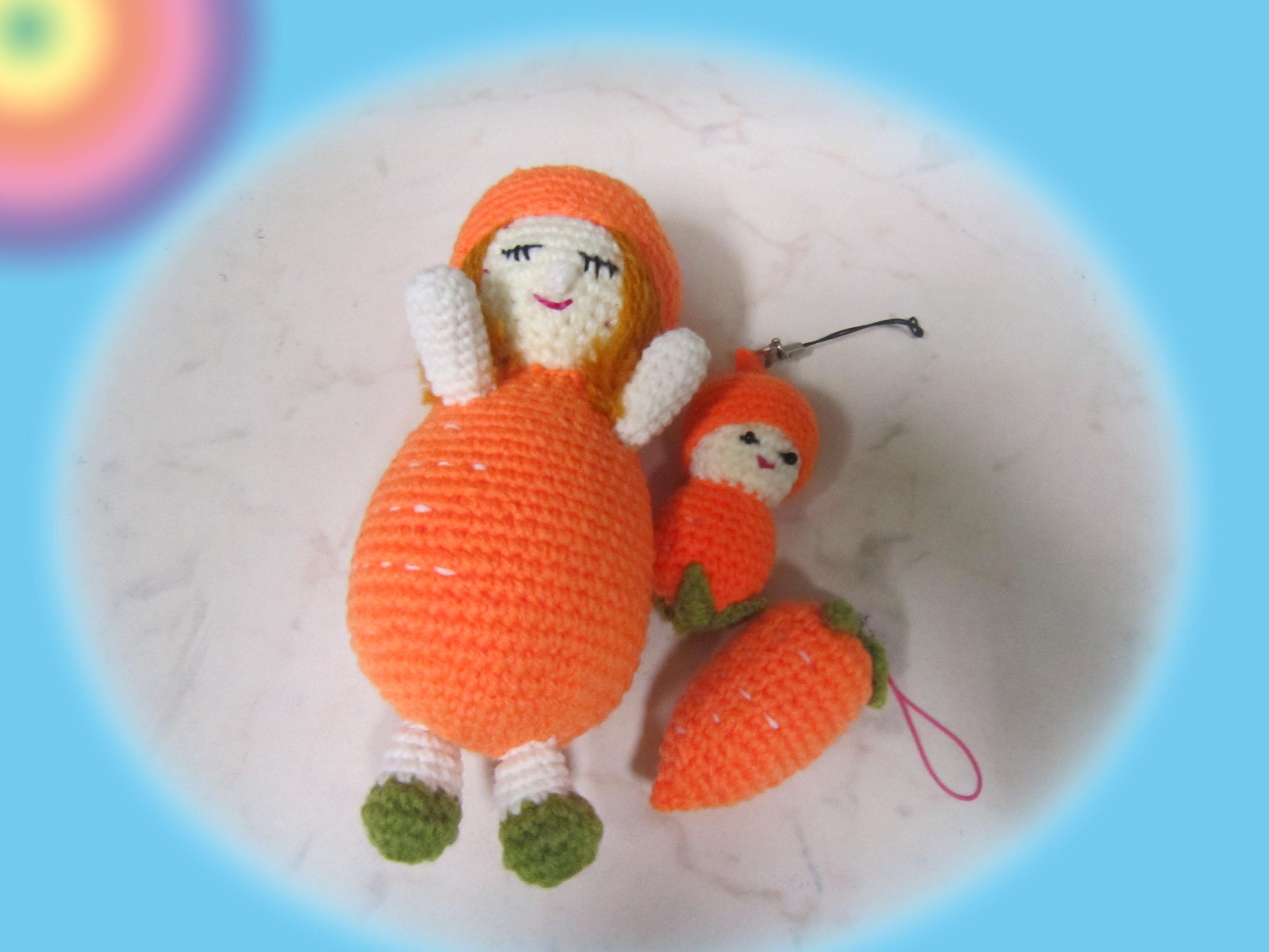 Crochet Doll Keyring-IMG_3568
