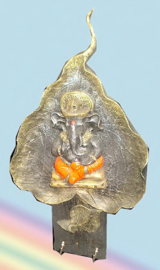 Sculpture candle holder-CHD-C00201