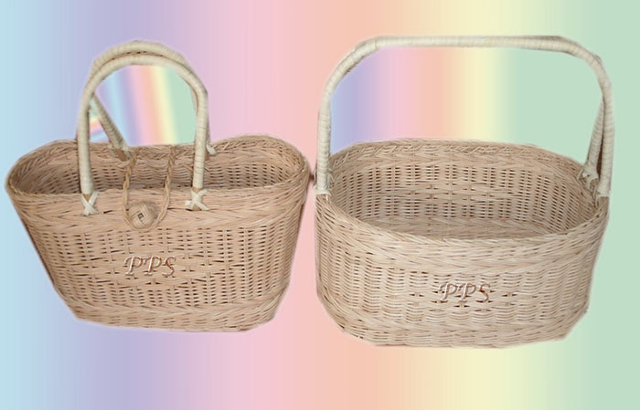 Rattan Basket with handle 1939-1