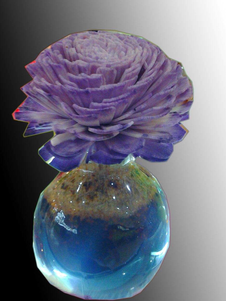 Sola flower diffuser + pot
