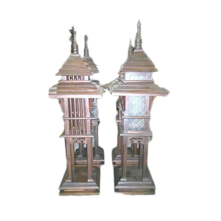 Teak Lamps Teak Lamps 1722