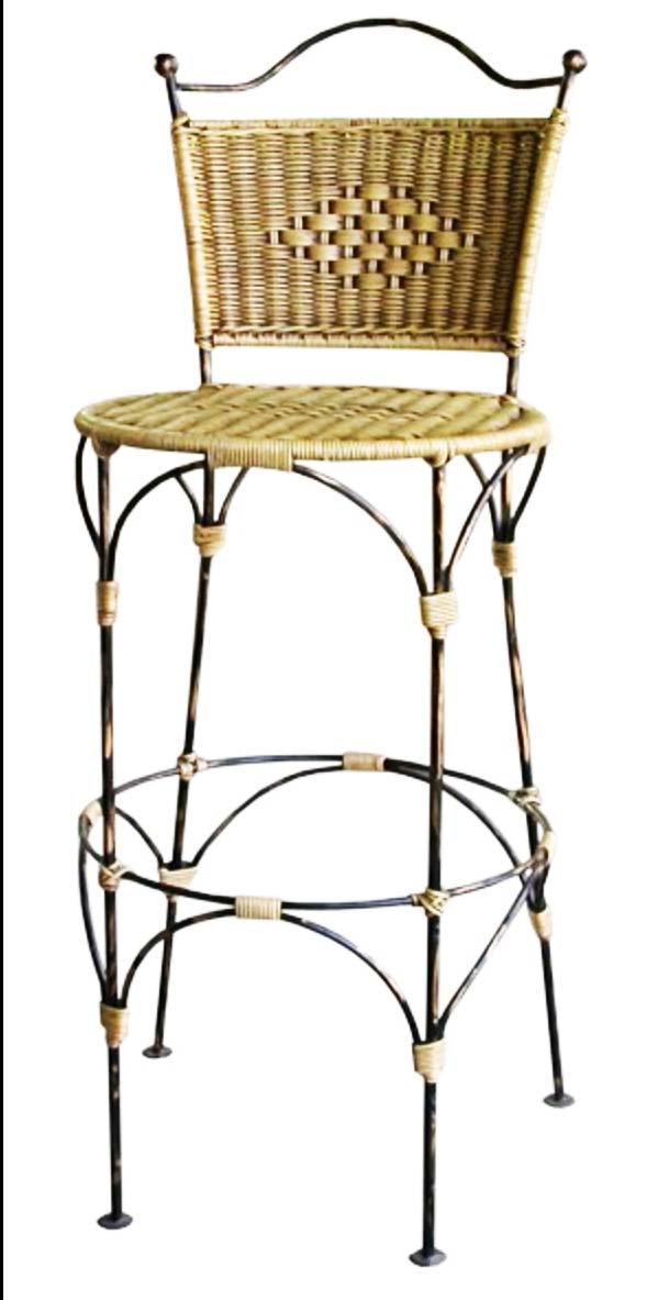 PS-Rattan Stool - SL11