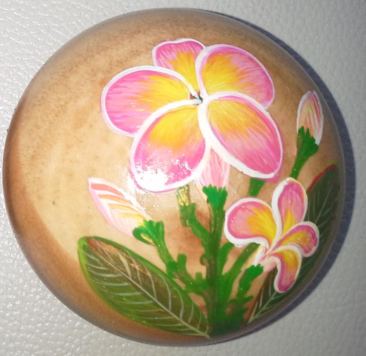 Wood Round Box paint - R32