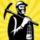 coal-miner-with-pick-axe-and-lamp-vector