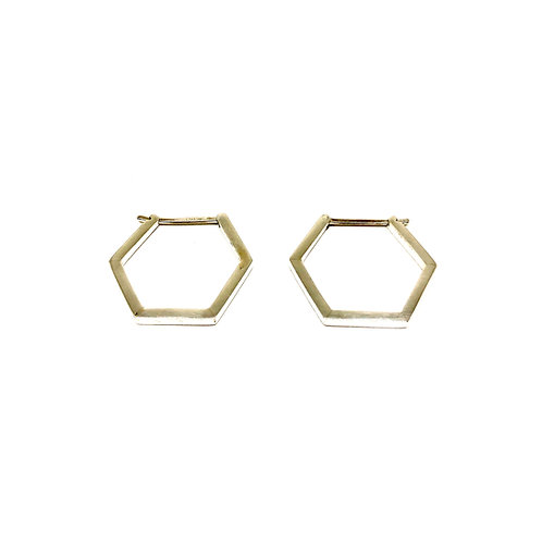 HEXAGON Earrings - Large